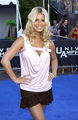 Jessica Simpson Teen Choice Awards - 7/2/2003