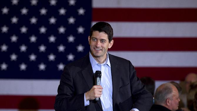 FILE - In this April 1, 2012 file photo, House Budget Committee Chairman Rep. Paul Ryan, R-Wis. speaks in Milwaukee. There are plenty of reasons for Republican presidential candidate Mitt Romney to choose Wisconsin Rep. Paul Ryan as a running mate. The whip-smart congressman is from a battleground state. He's the GOP's leading voice on the nation's budget and is the rare member of the Republican establishment who's loved by the tea party.  (AP Photo/Steven Senne, File)