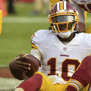 Time to kick RG3 to the fantasy curb!