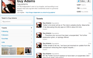 Look Who's Tweeting: Guy Adams Back on Twitter After NBC Drops Complaint