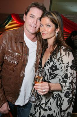 Ray Liotta and Jill Hennessy at the Los Angeles premiere of Touchstone Pictures' Wild Hogs