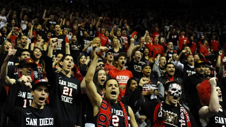 NCAA Basketball: Nevada at San Diego State