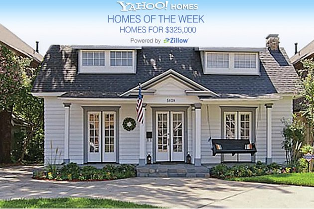 Yahoo! Homes of the Week for $325K cover