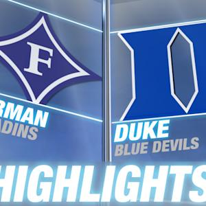 Furman vs Duke | 2014-15 ACC Men's Basketball Highlights