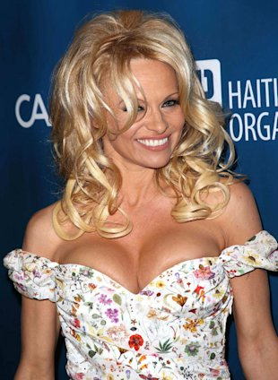 That Didn't Take Long! Pamela Anderson Takes Part In Dutch Dancing On Ice