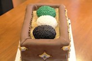Dragon Egg Game of Thrones Cake
