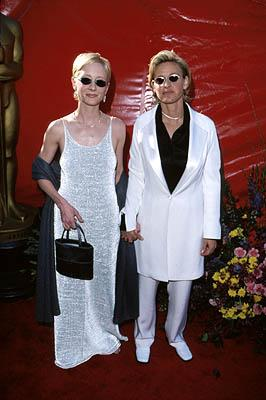 Anne Heche and Ellen DeGeneres 71st Annual Academy Awards Los Angeles, CA 3/21/1999