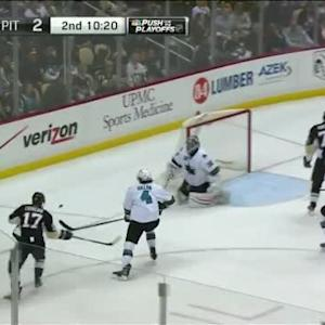Alex Stalock Save on Blake Comeau (09:41/2nd)