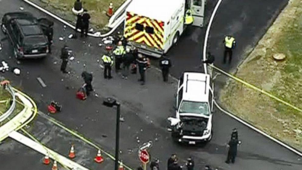 Men Dressed as Women Shot Outside NSA Gate, Tried to Ram Past Checkpoint, Officials Say