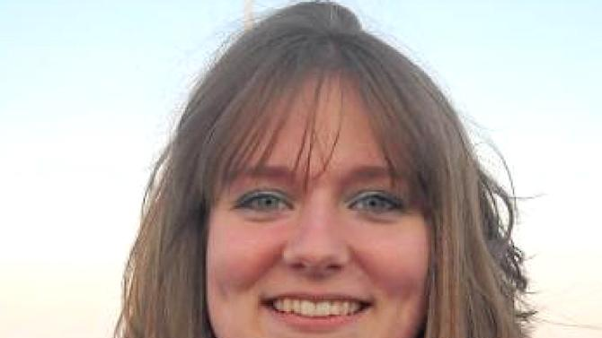 """This undated family photo shows Elizabeth """"Lizzi"""" Marriott. The New Hampshire Attorney Generals office said Saturday, Oct. 13, 2012 that Marriott, who disappeared Tuesday, Oct. 9, 2012 is dead, and a man has been charged with second-degree murder. (AP Photo/Britney Atwood)"""
