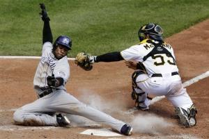 Pirates earn split with 5-1 win over Rockies