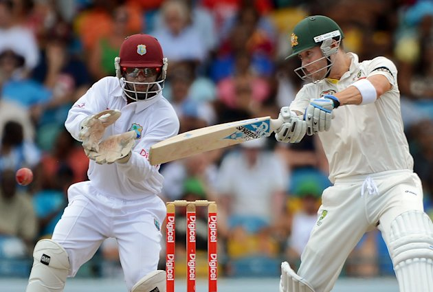 Michael Clarke: Australia's captain may have scored only 188 runs (but these included handy runs in Barbados) at an average of 31.33 in the three-Test series, but he did take a five-wicket haul in the