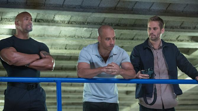 'Fast 6' hangs onto first place at box office