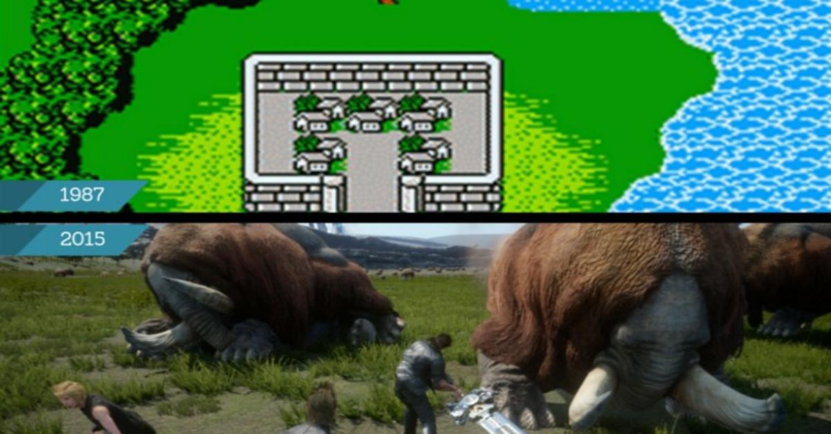 15 Photos Of Video Games Now Vs. Then