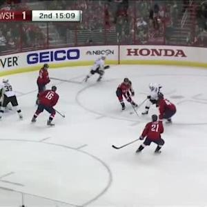 Braden Holtby Save on Sidney Crosby (04:53/2nd)
