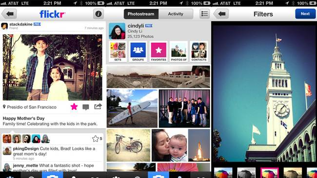 New Flickr iPhone app to compete with Instagram and Twitter with 16 filters