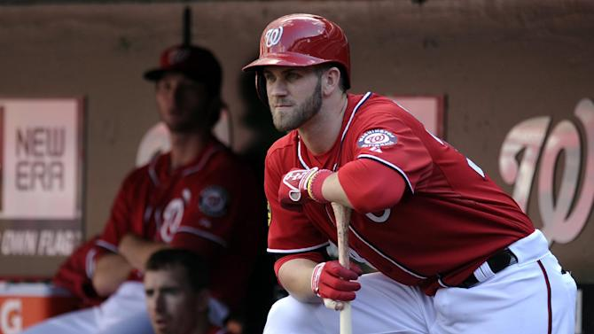 Nats slugger Harper doesn't want to hit the wall