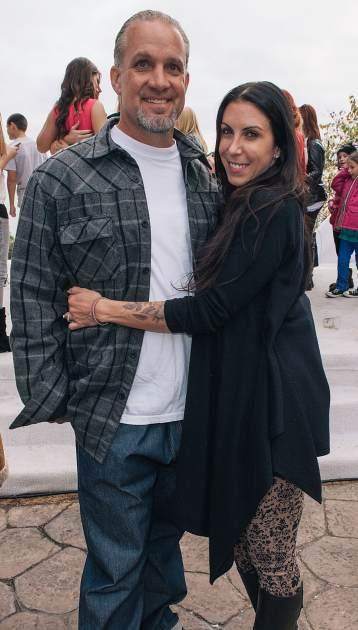 Jesse James and Alexis DeJoria attend John Paul DeJoria's annual winter wonderland holiday party, where guests sipped Patron tequila cocktails on December 22, 2012 in Malibu, Calif. -- Getty Premium