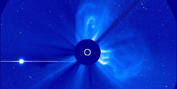 NASA Probes Near Sun Safe from Triple Solar Eruption