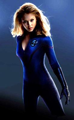 Jessica Alba as Sue Storm, The Invisible Girl, in 20th Century Fox's Fantastic Four