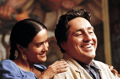Salma Hayek and Alfred Molina in Miramax's Frida