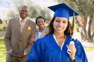 Getty Images: After graduation, seven in 10 graduates will live at home until they find a job, a CollegeGrad.com survey says.