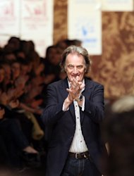 British designer Sir Paul Smith is one of the designers taking part in the Britain Creates 2012 project.
