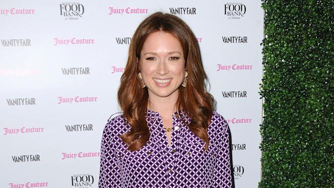 FILE - This Feb. 18, 2013 file photo shows actress Ellie Kemper at the Vanity Fair and Juicy Couture Celebration for the 2013 Vanities Calendar at the Chateau Marmont in Los Angeles. NBC has ordered 13 episodes of a new singlecam comedy from multiple Emmy Award winners Tina Fey and Robert Carlock. Ellie Kemper is set to star. (Photo by Jordan Strauss/Invision/AP, File)