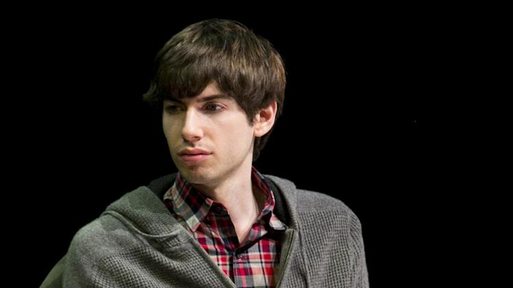 "FILE - In this Oct. 1, 2012 file photo, Tumblr founder David Karp participates in the ""Bloomberg Leadership Summit"" seminar in New York. In a deal announced Monday, May 20, 2013, Yahoo is buying New York-based Tumblr, the online blogging forum, for $1.1 billion. About $275 million will go to Karp, 26, who dropped out of high school to concentrate on computer programming and started Tumblr six years ago. (AP Photo/Charles Sykes/Invision for Advertising Week)"