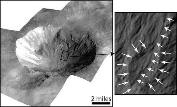 Surprise! Water Once Flowed on Huge Asteroid Vesta