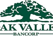 Oak Valley Bancorp Reports 1st Quarter Results