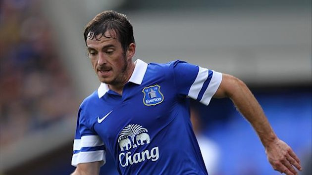 Everton defender Leighton Baines (PA Photos)