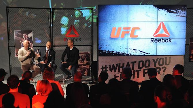 Dana White defends Reebok deal