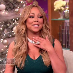 Mariah Carey Talks 'New Beau,' Shows Off Expensive Necklace