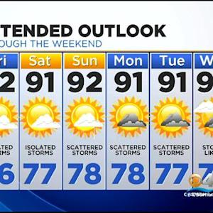 CBSMiami.com Weather @ Your Desk 7/10 11:30 P.M.