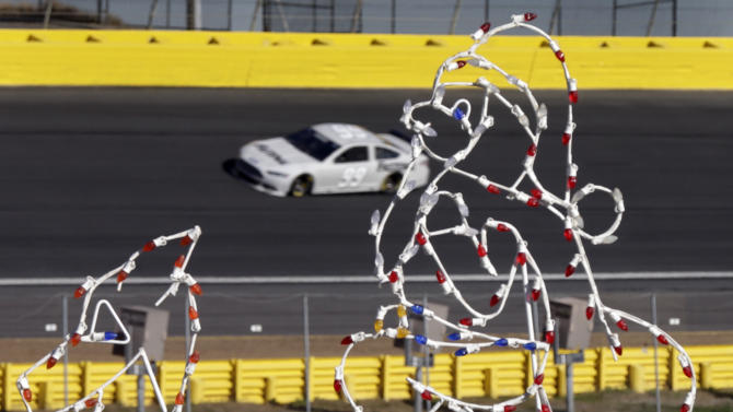 NASCAR does final test for 2014 rules package