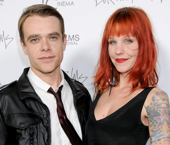 Nick Stahl and Rose Stahl arrive at the Los Angeles Premiere of &#39;Burning Palms&#39; at the Arclight Hollyood Theatre in Hollywood on January 12, 2011 -- Getty Premium