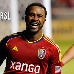GOAL: Findley pokes a rebound by Ricketts to give RSL the early lead