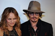 French actress Vanessa Paradis (L) and her partner, US actor Johnny Depp (R), have separated