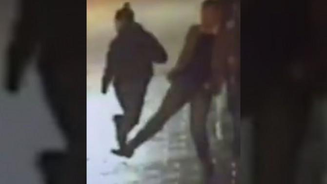 Watch as a Civilian Helpfully Trips a Suspect Who is Fleeing Police