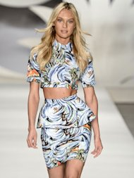 Highlights At Sao Paulo Fashion Week From Rosie Huntington-Whiteley To African Prints