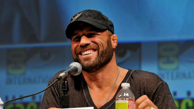 Comic Con 2010 Panels Randy Couture