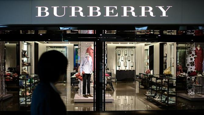 Luxury handbag maker Burberry warned over its outlook, as smaller rival Mulberry issued a profit warning against a background of global growth strains, sending their shares crashing