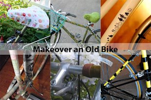 Bicycle Makeovers for National Bike Month