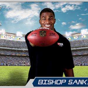 Virtual Rookie Card: Tennessee Titans running back Bishop Sankey