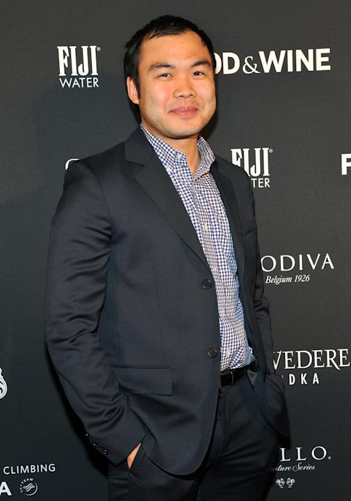 Top Chef winner Paul Qui attends the 24th Annual FOOD & WINE Best New Chefs awards party at The Liberty Theatre in New York, Tuesday, April 3, 2012.  (Diane Bondareff/AP Images for FOOD & WINE)