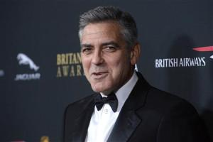 Actor George Clooney attends the BAFTA Los Angeles Britannia Awards in Beverly Hills, California