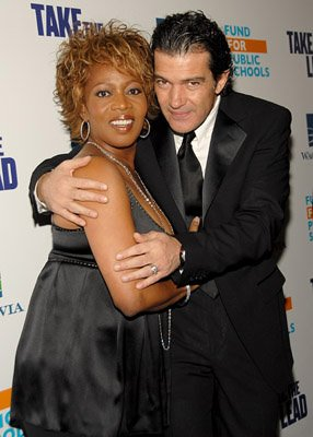 Premiere: Alfre Woodard and Antonio Banderas at the NY premiere of New Line Cinema's Take the Lead - 4/4/2006
