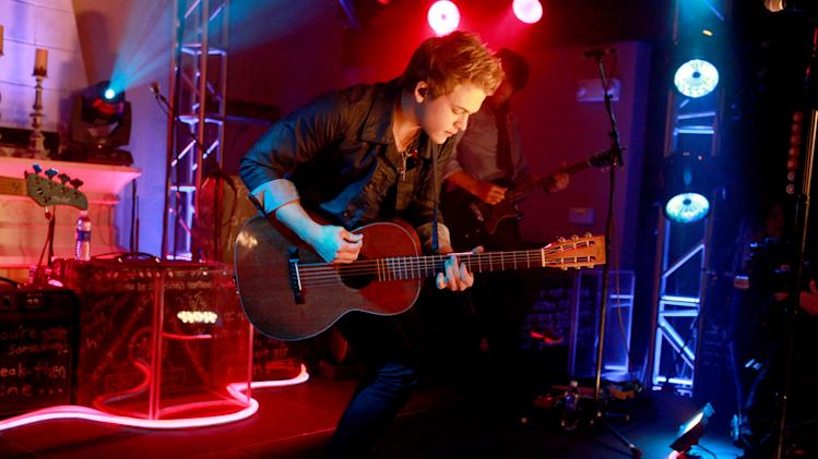 IMAGE DISTRIBUTED FOR PEPSI - Hunter Hayes performs at the Pepsi 5th Quarter in the French Quarter Post Super Bowl Party, on Sunday, Feb. 3, 2013, in New Orleans. (Photo by Barry Brecheisen/Invision for Pepsi/AP Images)