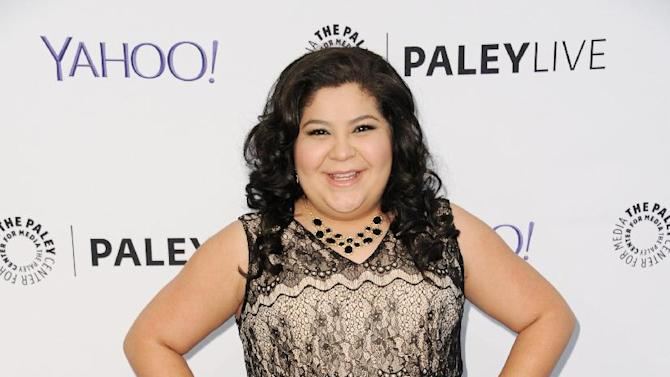 "Raini Rodriguez arrives at Paley Center For Media Presents Family Night With ""Austin & Ally"" on Monday, May 4, 2015, in Beverly Hills, Calif. (Photo by Richard Shotwell/Invision/AP)"
